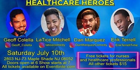 Stand-Up for Something: Healthcare Heroes MAPLE SHADE tickets