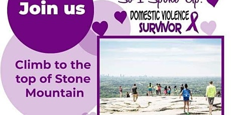 Stone Mountain Climb in Honor of Domestic Violence tickets