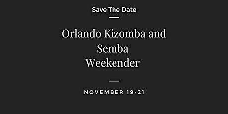 Orlando Kizomba and Semba Weekender tickets