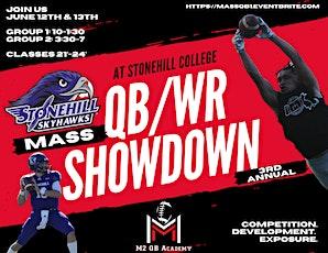 Massachusetts QB/WR Showdown Camp 2021 tickets