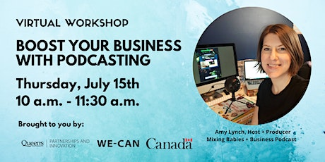 Boost Your Business with Podcasting tickets