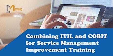 Combining ITIL & COBIT for Service Mgmt improv Training in Cuernavaca boletos