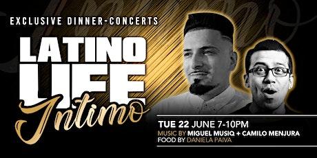Latino Life Íntimo presents Miguel Muziq + Camilo Menjura tickets
