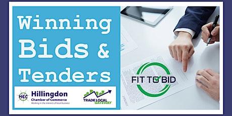 Hillingdon | Bid Skills Training: FOUNDATION & INTERMEDIATE sessions tickets