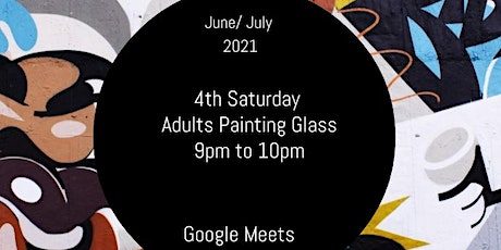 Adult Painting  Glass tickets