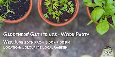 Still Moon Gardeners' Gatherings - Work Party tickets