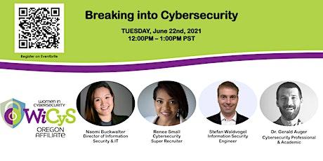 Breaking into Cybersecurity billets