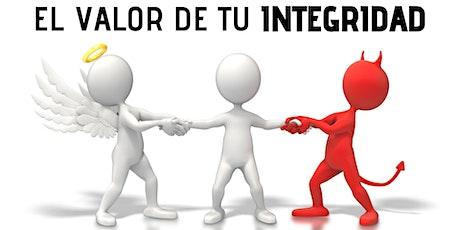 Conferencia online EL VALOR DE TU INTEGRIDAD entradas