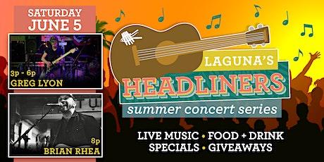 Laguna's Headliners: Summer Concert Series - August 6th tickets