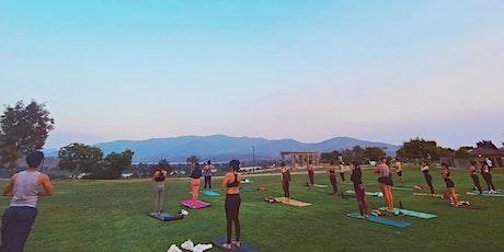 Outdoor Hatha/vinyasa yoga + Sound bowl healing tickets