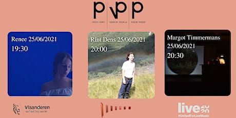Renée/ Rint Dens /Margot Timmermans /Partij Voor De Poëzie biglietti