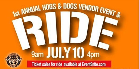 1st Annual Hogs & Dogs Motorcycle ride, Fundraiser and Adoption Event tickets