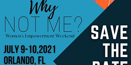 """Overcomers Movement """"Why Not Me"""" Women's Empowerment tickets"""
