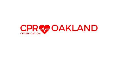 CPR Certification Oakland tickets