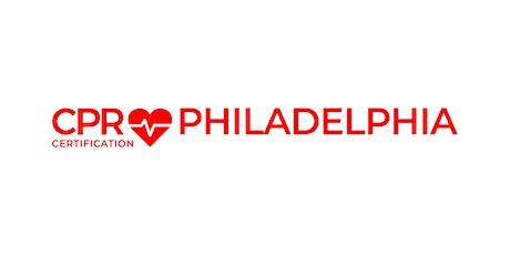 CPR Certification Philadelphia tickets