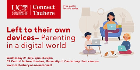 UC Connect: Left to their own devices: Parenting in a digital world tickets