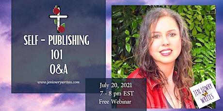 Self-Publishing 101 Q & A by Best-Selling Author, Jen Lowry biglietti