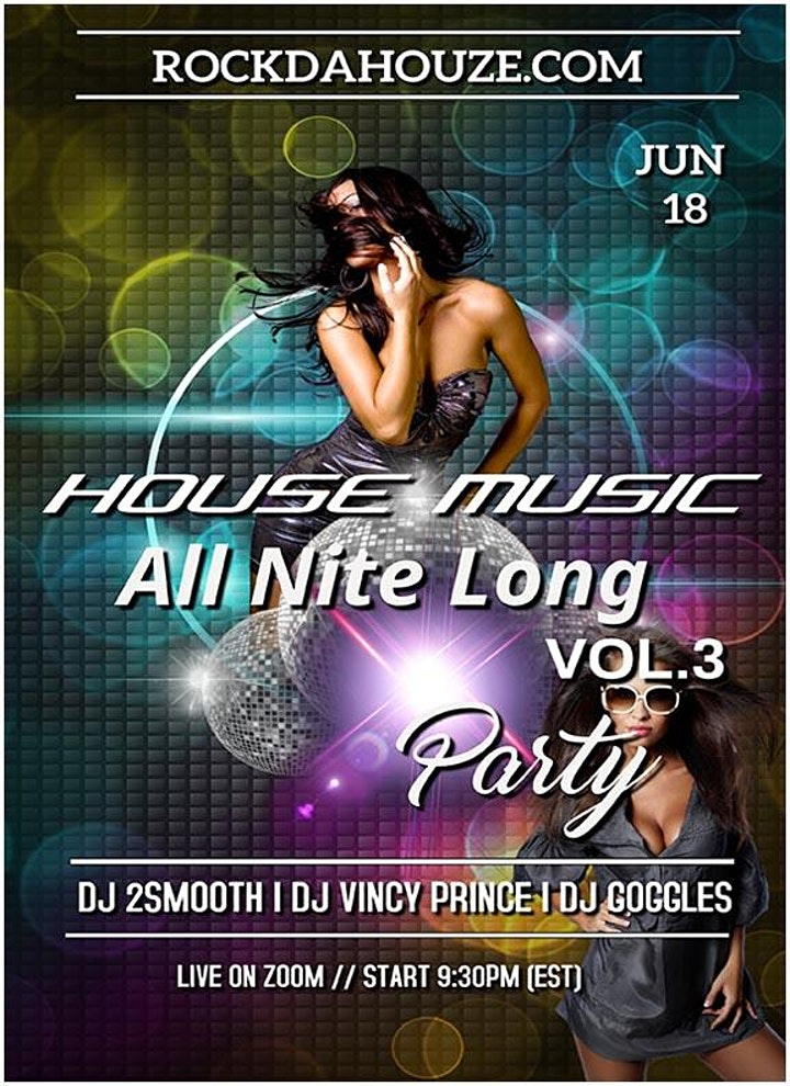 House Music VOL.3 - Online Party! image