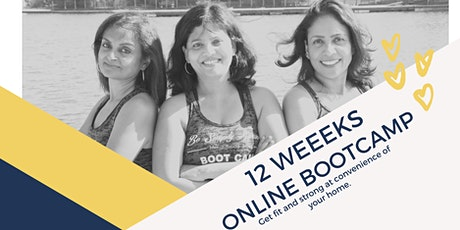 12 weeks ONLINE BOOT-CAMP tickets