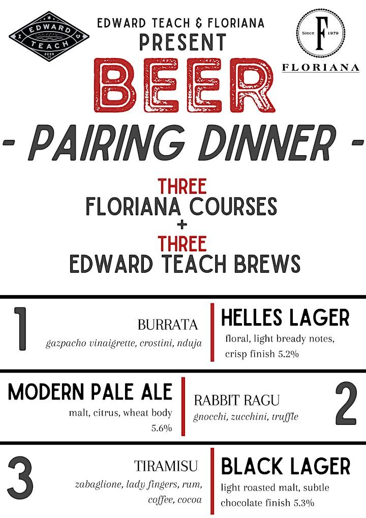 Edward Teach & Floriana Beer Pairing Event image