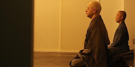 Online Zazen Meditation Tickets