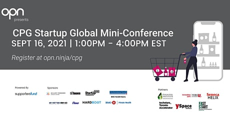CPG Startup Global Mini-Conference tickets