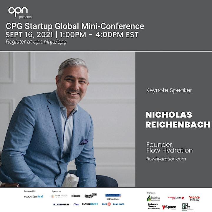 CPG Startup Global Mini-Conference image