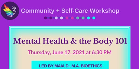 Mental Health and the Body tickets
