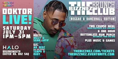 The Bizznez Brunch Club Reggae & Dancehall Edition tickets
