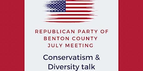 Conservatism & Diversity tickets