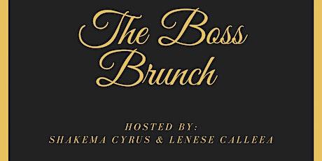 The Boss Brunch tickets