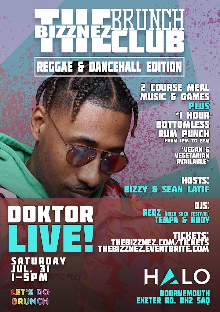 The Bizznez Brunch Club Reggae & Dancehall Edition image