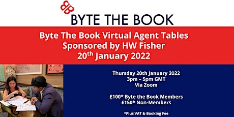 Byte The Book Virtual  Agents Tables (January 2022) Sponsored by HW Fisher tickets