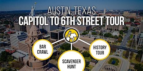 Austin Sixth Street Bar Crawl & History Tour – Bar Trivia, On The Go! tickets
