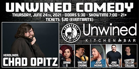 Unwined Comedy: Chad Opitz tickets