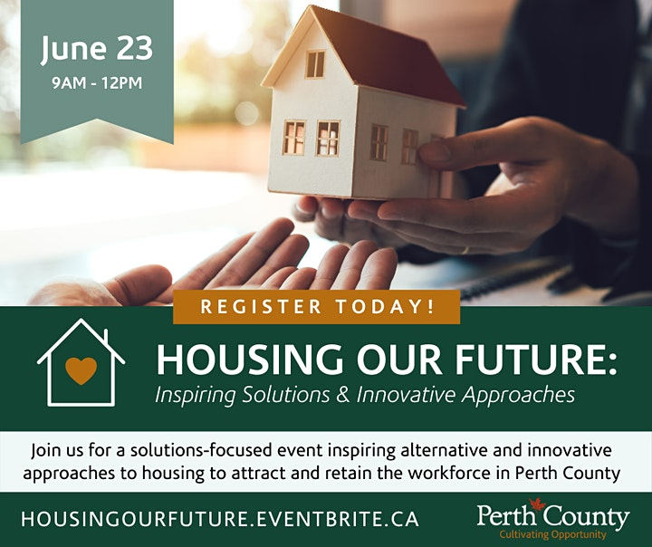 Housing Our Future:  Inspiring Solutions & Innovative Approaches image