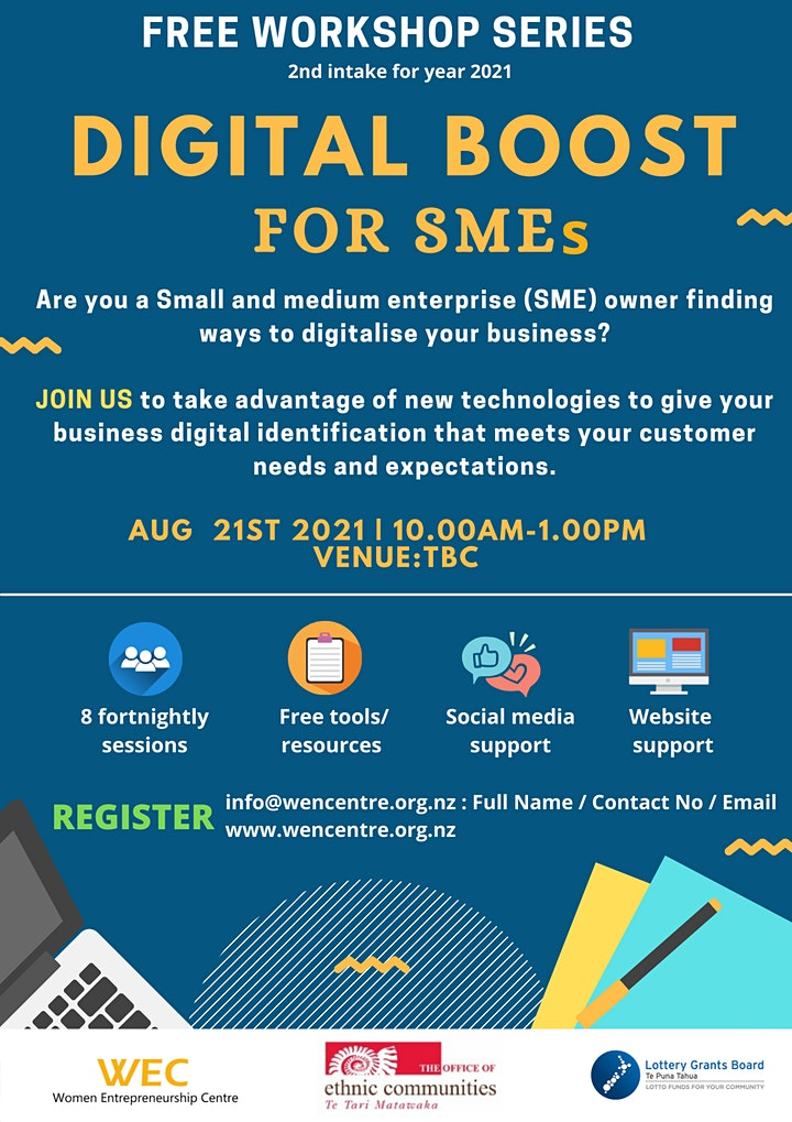 DIGITAL BOOST FOR SMEs (2nd intake for year 2021) image