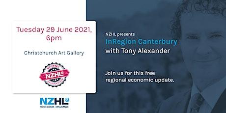 Tony Alexander InRegion Seminar Series - Canterbury tickets