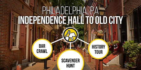 Philadelphia Bar Crawl and Old City History Tour [Brews & Clues] tickets