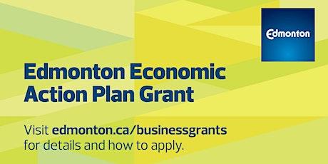 Economic Action Plan Grant Webinar tickets