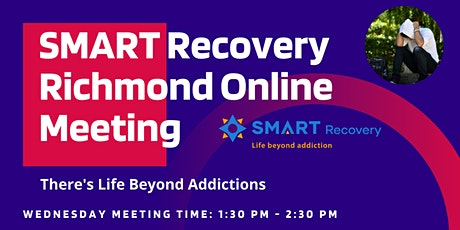 SMART Recovery Richmond BC Wednesday Online Meeting tickets