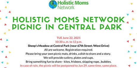 Holistic Moms Network Picnic in Central Park tickets