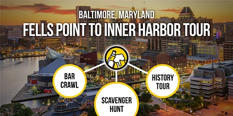 Baltimore Bar Crawl and Fells Point History Tour [Brews & Clues] tickets