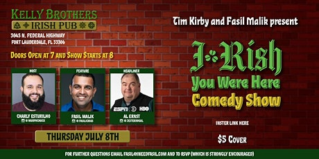 Comedy Night at Kelly Brothers starring Al Ernst tickets