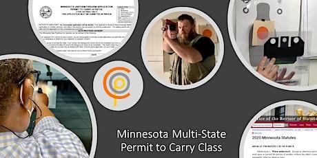 Minnesota Multi-State Permit To Carry Class entradas