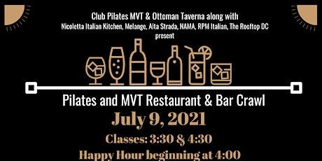 Pilates and MVT Restaurant & Bar Crawl tickets