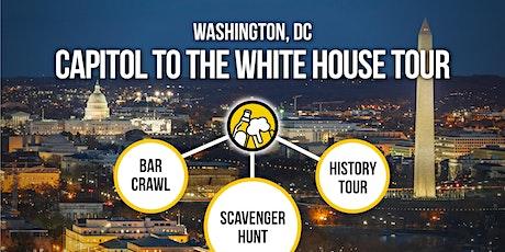 Washington, DC Bar Crawl and History Tour [Brews & Clues] tickets