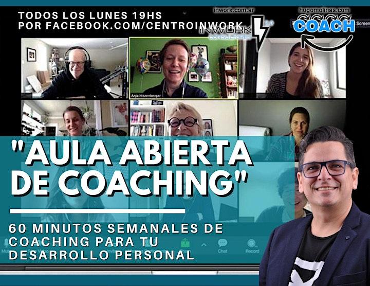 Imagen de Aula Abierta de Coaching GRATIS