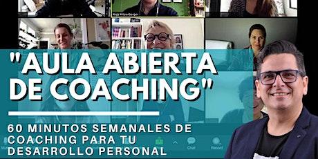 Aula Abierta de Coaching GRATIS entradas