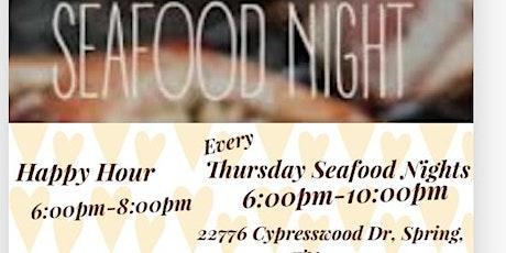 Louisiana Style Every Thursday Seafood Nights tickets